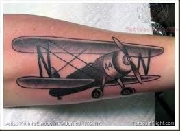 plane tattoo - Google Search
