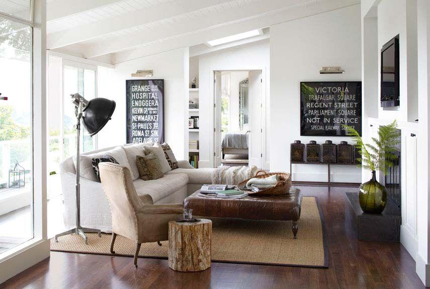 A Laid Back Ranch Farm House Living Room Modern Country Living Room Rustic Living Room