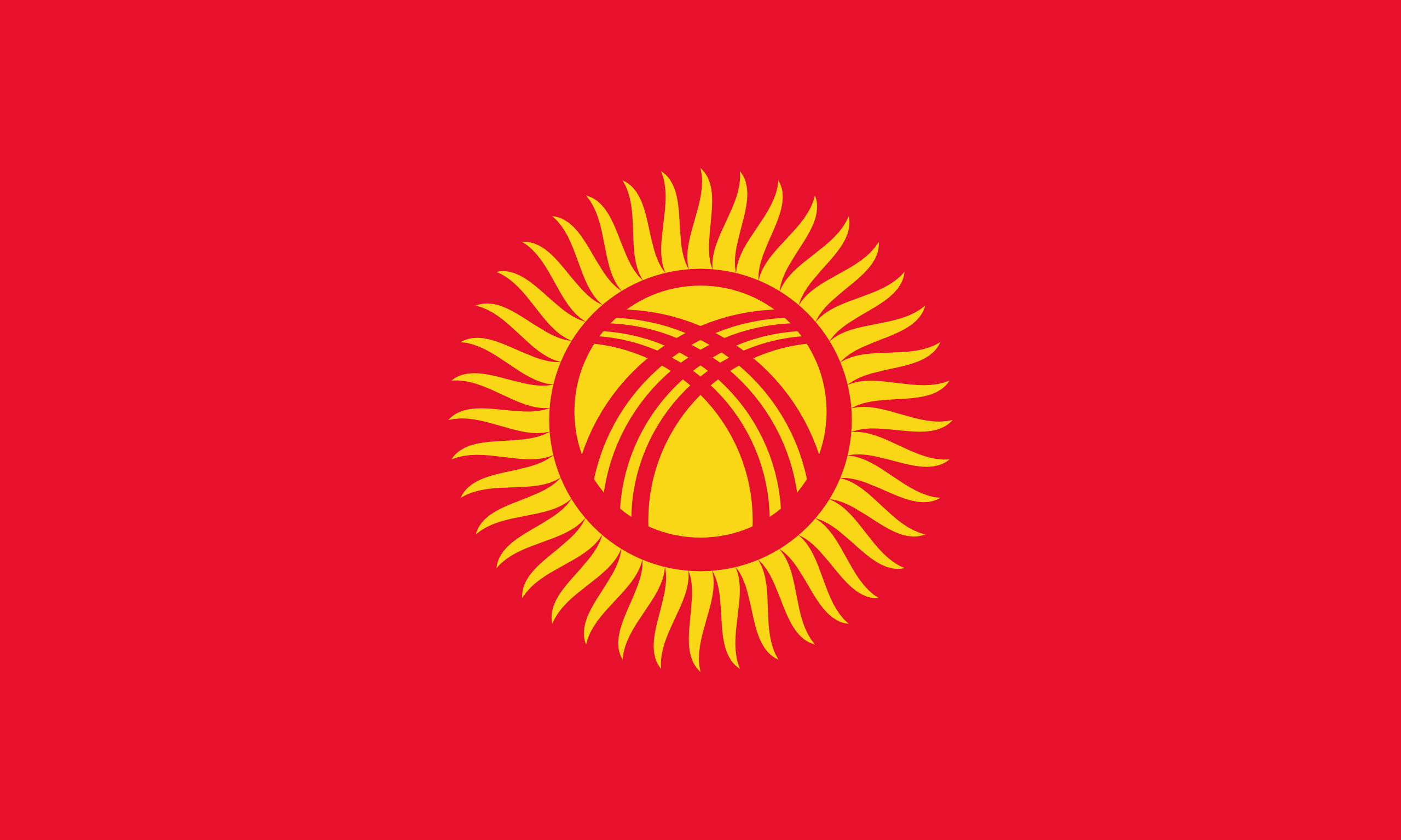 The flag of kyrgyzstan he 40 rays or lines are the 40 tribes of asia biocorpaavc Images