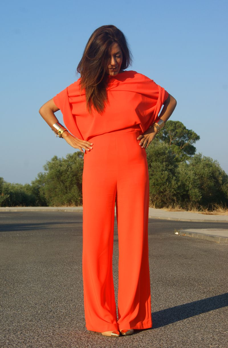 Hanging in my Closet: Backless Jumpsuit