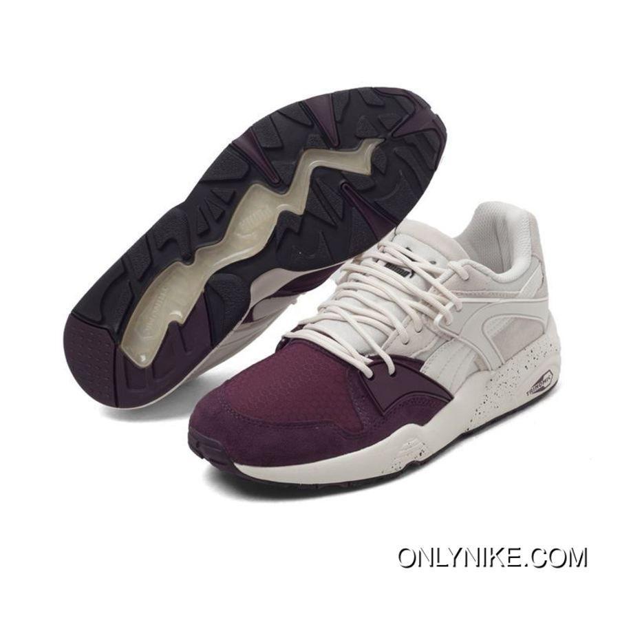 62e0c8fd93da Puma Trinomic Blaze Winter Tech Winetasting-Vaporous Gray 361341-03 Women  Mens Running Shoes Originals Trainers White Purple New Year Deals
