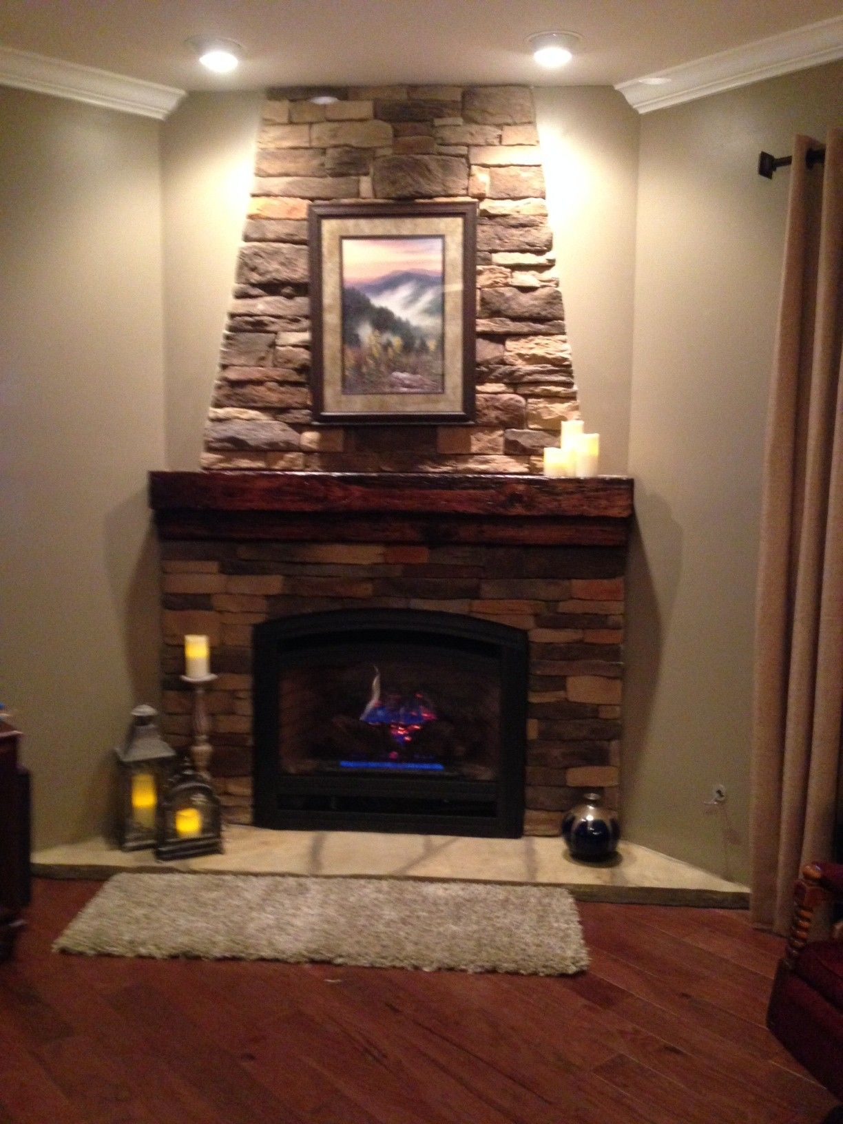 fireplace dutch quality stone autumn blend stack ledge custom