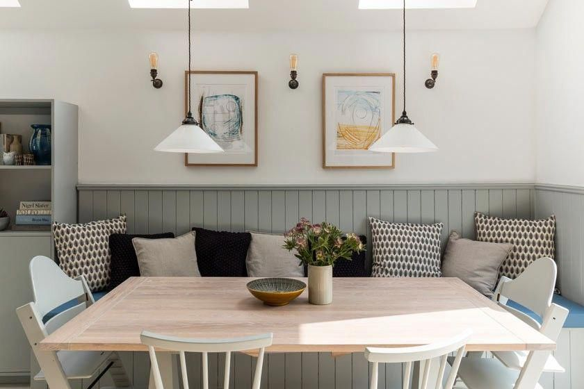 Diykitchencountertops Banquette Seating In Kitchen Dining Room