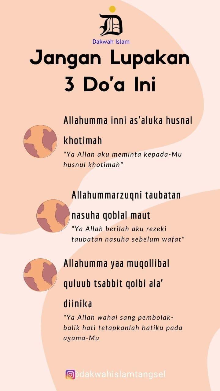 10 Doa Paling Dahsyat