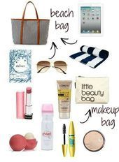 Spring Break: Beach Bag Essentials #summervacationpictures  Spring Break: Beach Bag Essentials #summervacationpictures    This image has 5 repetitions. Author: Suhey Diaz #Bag #facecare