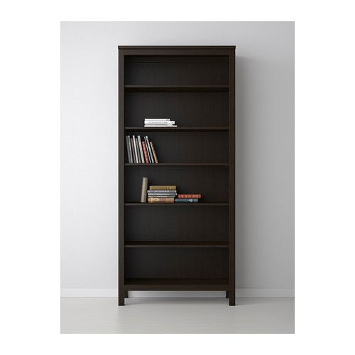 hemnes biblioth que brun noir ikea ik a id 39 pinterest hemnes ik a et ikea. Black Bedroom Furniture Sets. Home Design Ideas