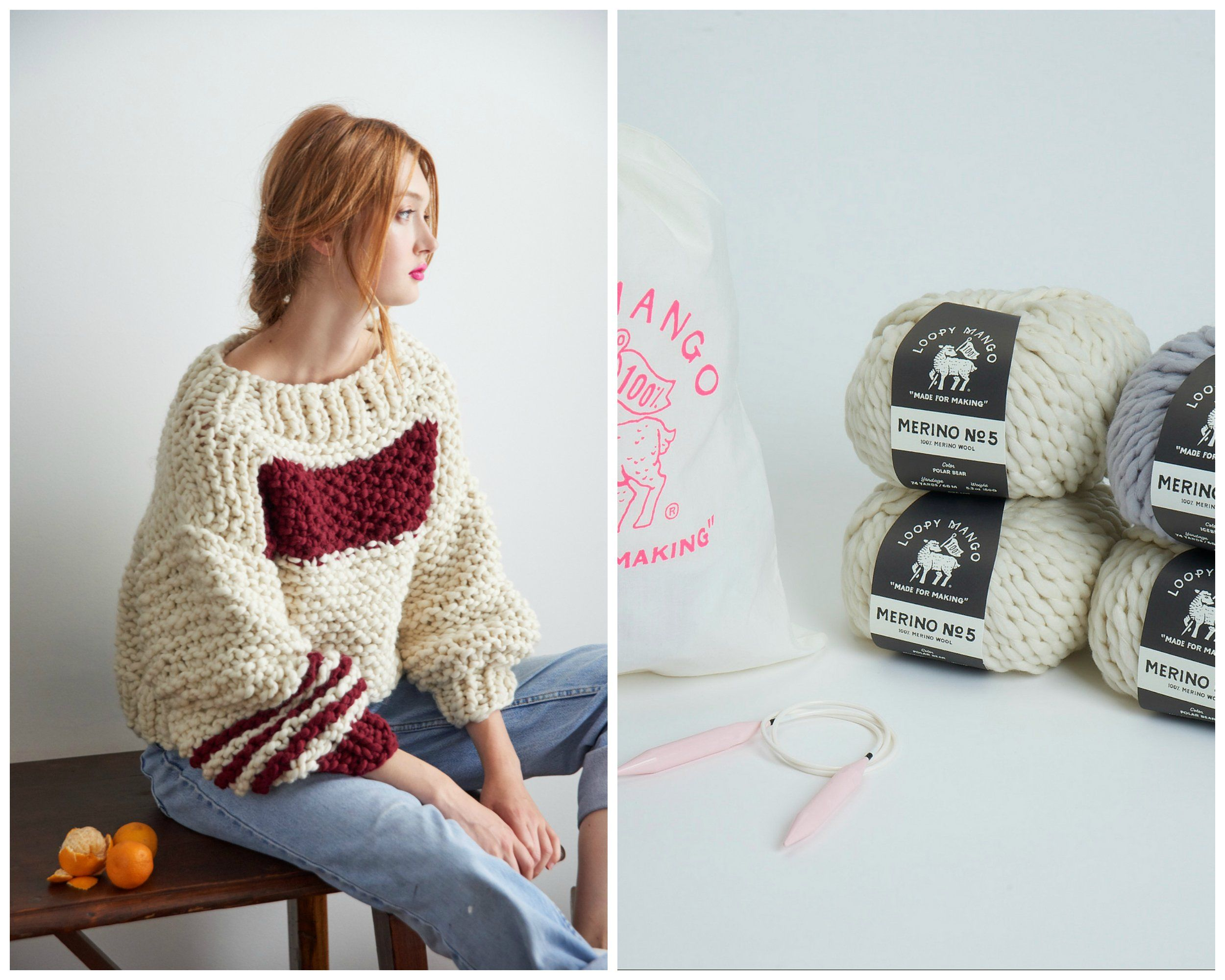 61d1b0ab73 DIY Kit - Sailor s Dream Sweater - Merino No. 5