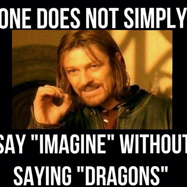 """Warriors Imagine Dragons Hunger Games: Person: """"So Just Imagine-"""" Me: """"DRAGONS!!!!"""""""