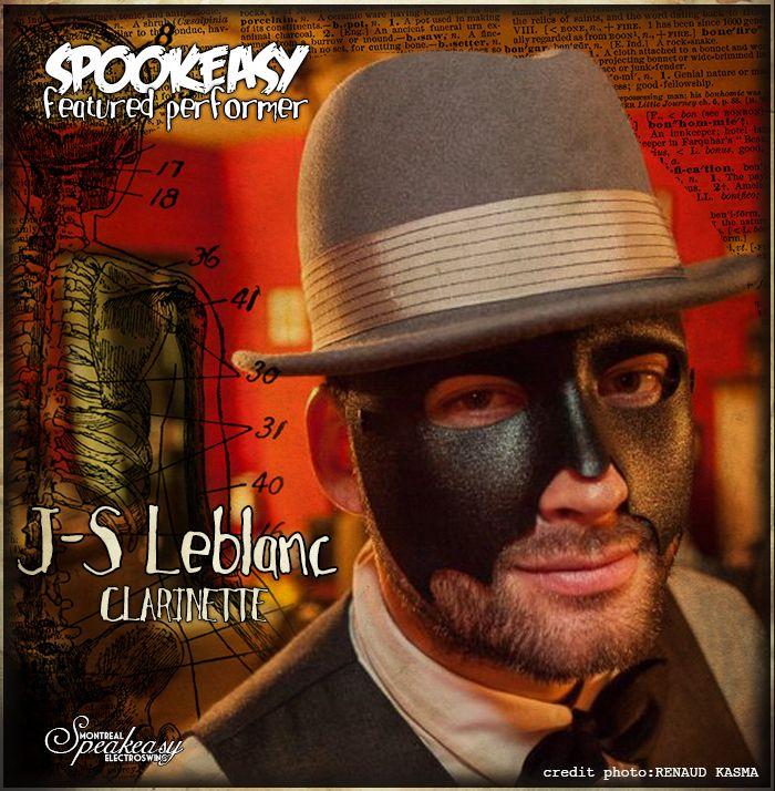Jean-Sébastien Leblanc du groupe Early Jazz Band