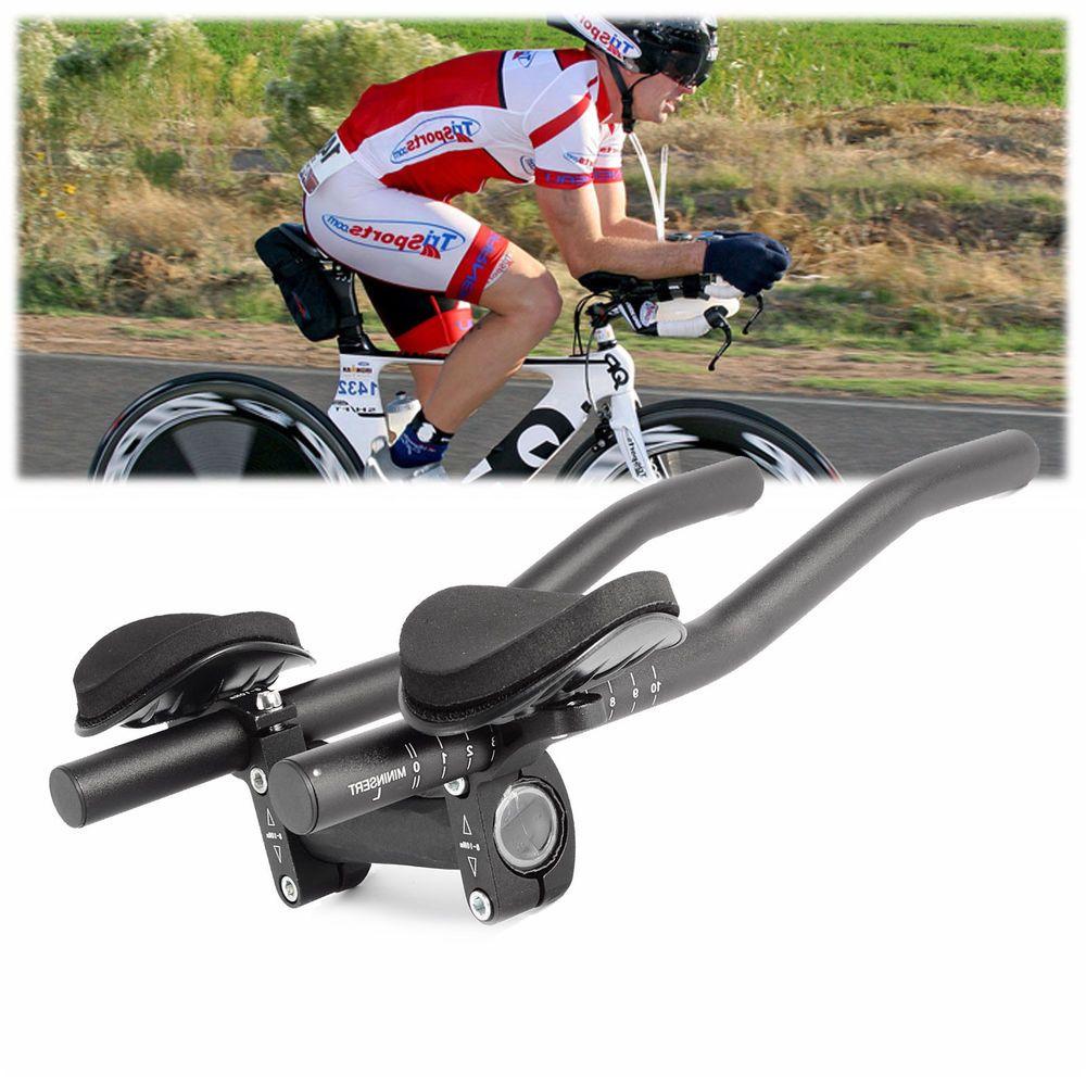 Cycling Bike Bicycle Alloy Triathlon Rest Handlebar Clip Bars Road SE