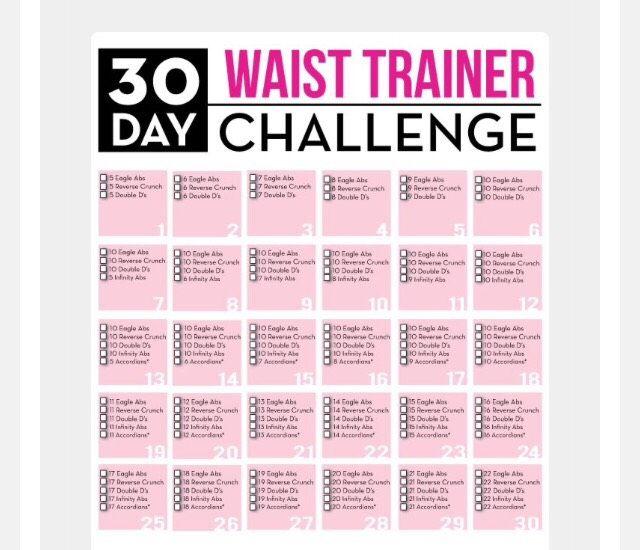 5c9152c6c3c 30 DAY WAIST TRAINER CHALLENGE