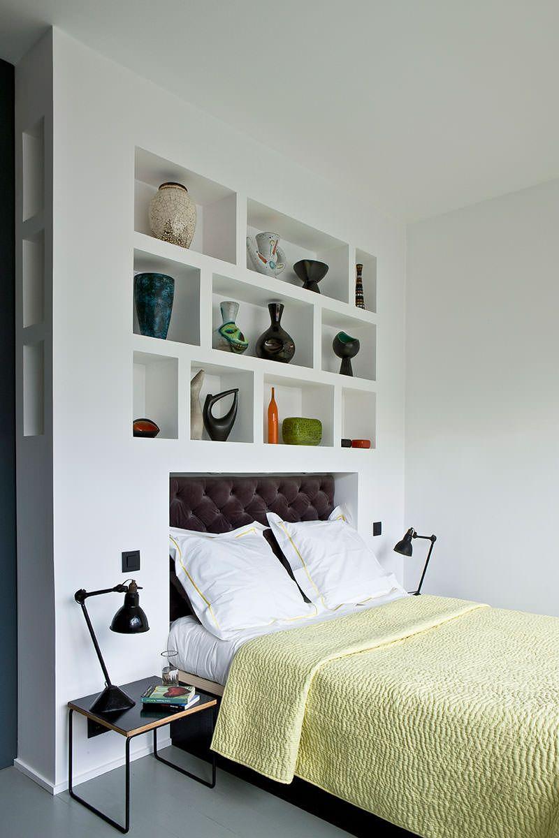 Libreria Design Camera Da Letto 40 idee di lavori in cartongesso per la camera da letto (con