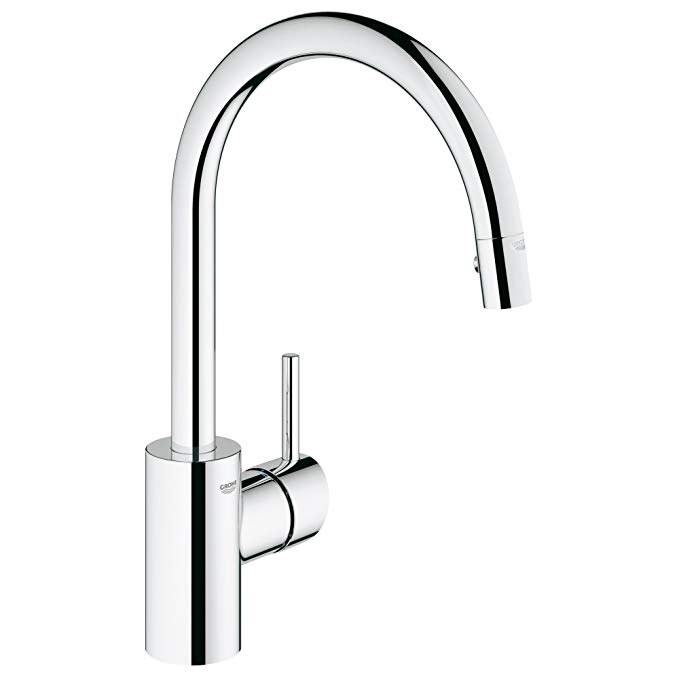 Grohe 32665dc1 Concetto Single Handle Pull Down High Arc Kitchen