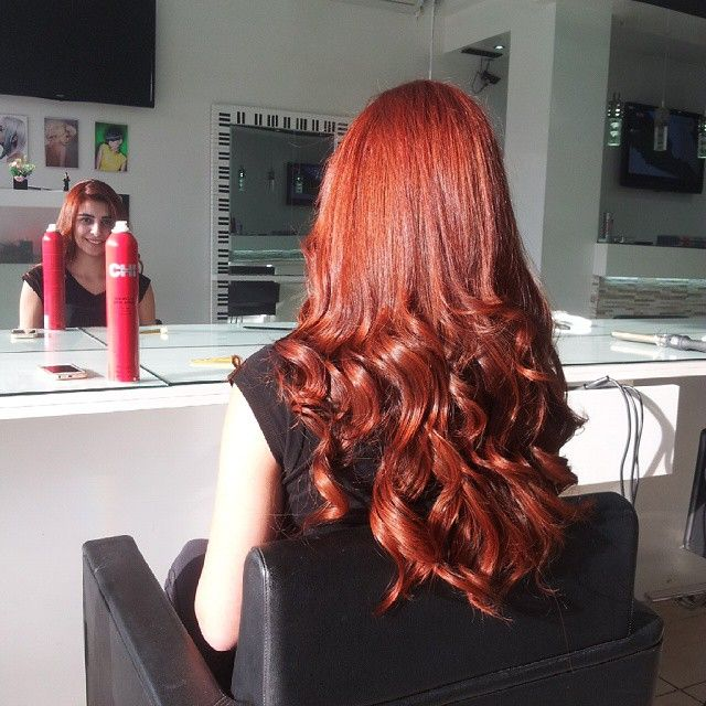 That Red Hair Tho Chicolor 7c 7rr By Hannajouki Hair Color