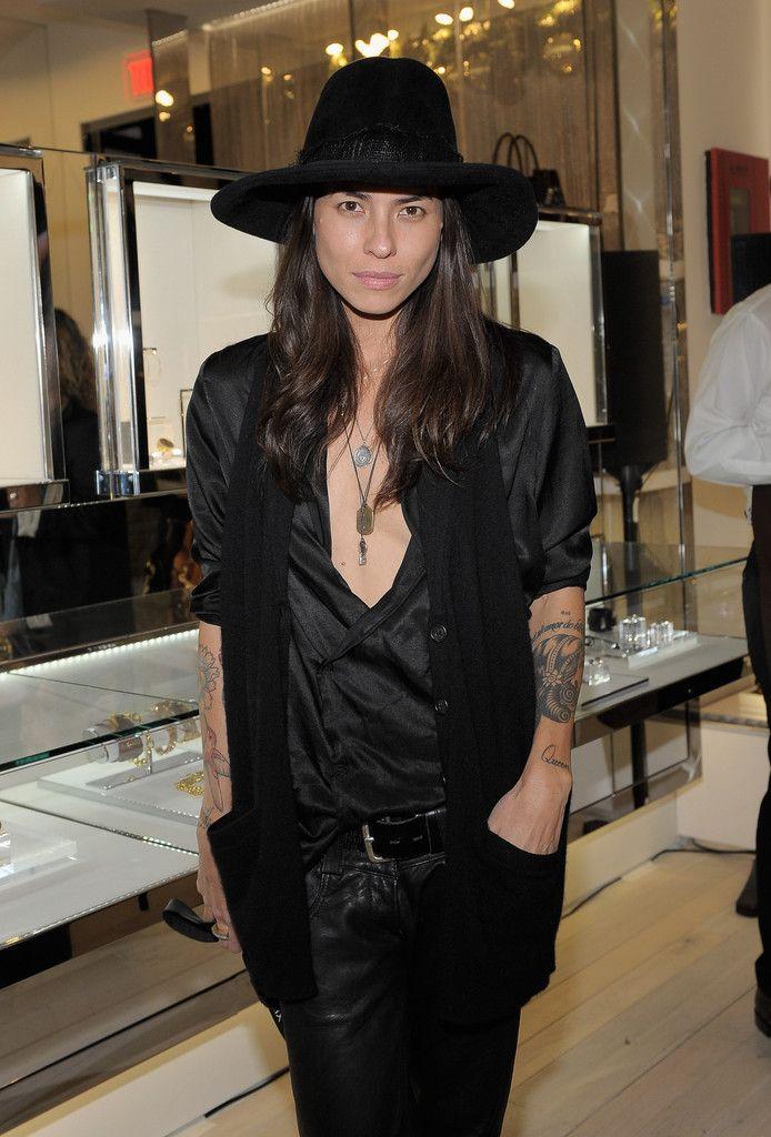 Tasya Van Ree #black #bohemian #outfit