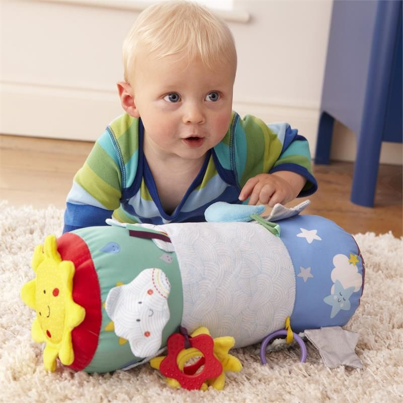 Baby Sensory Musical Say Hello Tummy Time Discovery Toy