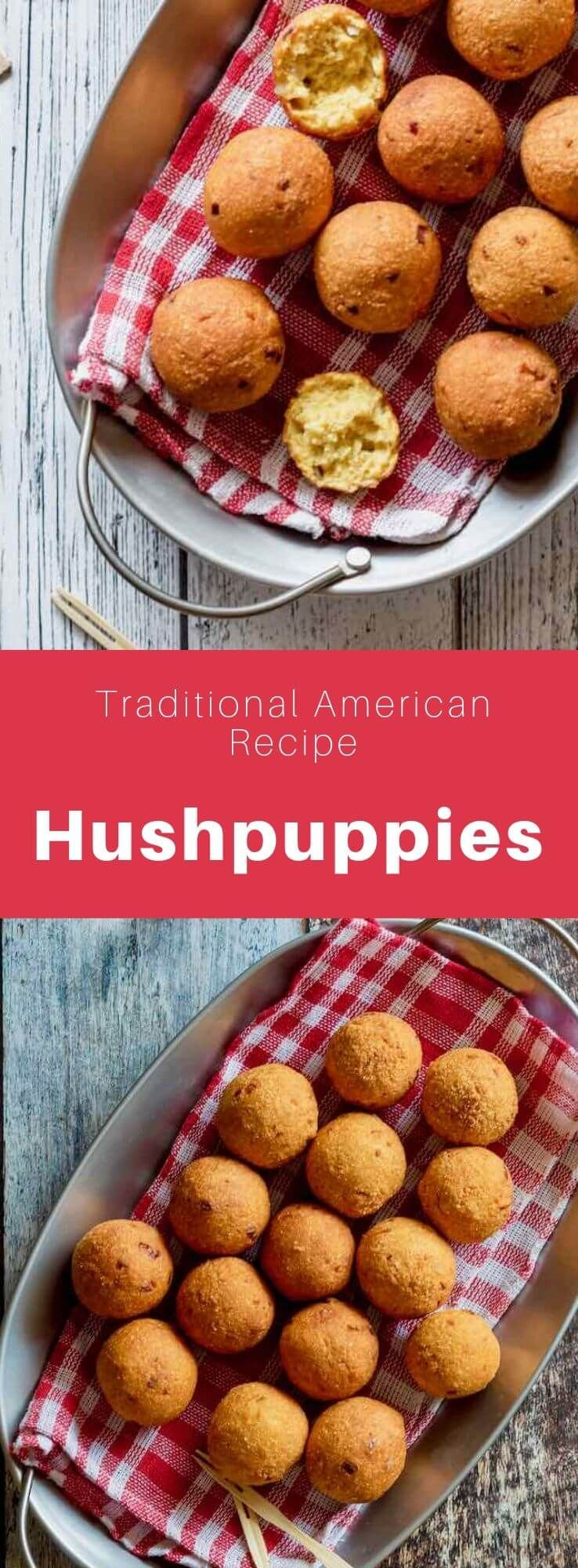 Hushpuppies are delicious little fried balls prepared with