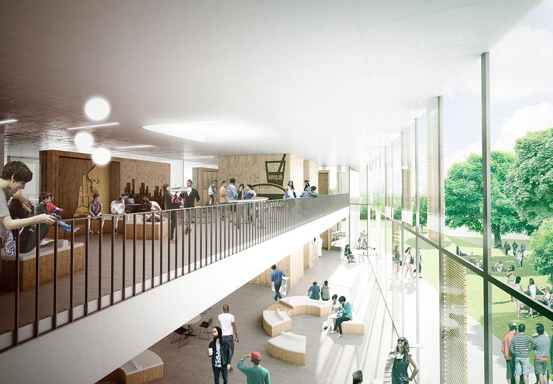 herningsholm vocational school arkitektfirmaet c f m ller beta rh pinterest com