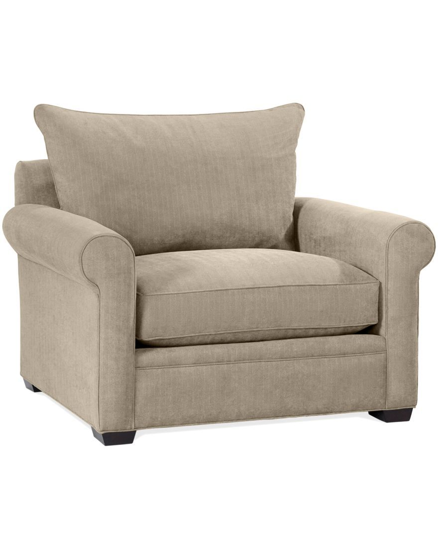 Dial Fabric Microfiber Living Room Chair
