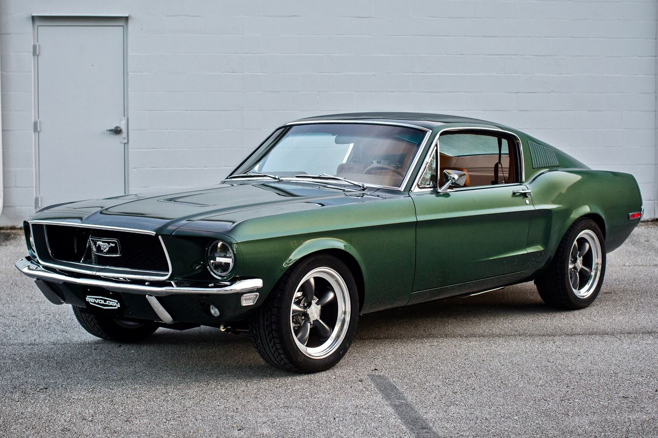 This 435 Hp 68 Ford Mustang Was Inspired By Steve Mcqueen S