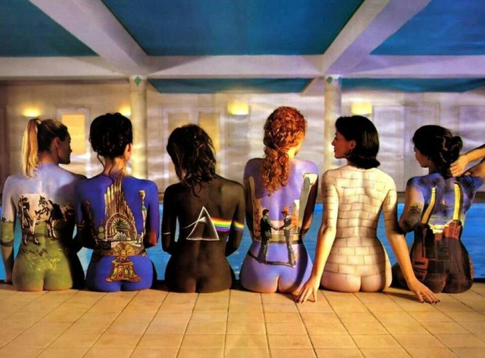 Pink Floyd Album Cover ~ Art By Storm Thorgeson ~ Body Paint By Phyllis Cohen ~ Photography By Tony Max
