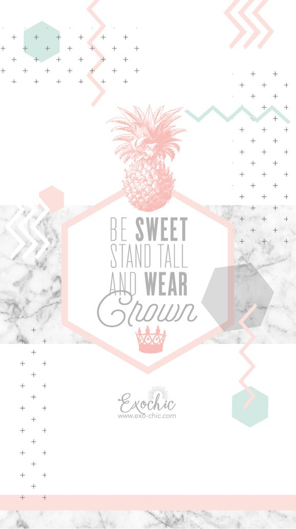 Fond Ecran Free Printable Octobre Be Sweet Stand Tall And