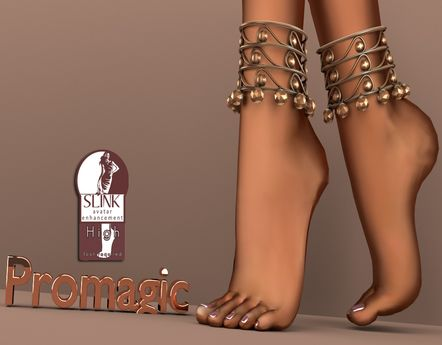 *PROMAGIC* Ghungroo Anklets- COpper(Boxed)