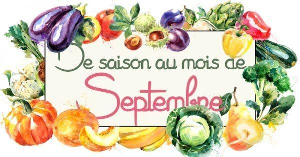 recette legumes septembre