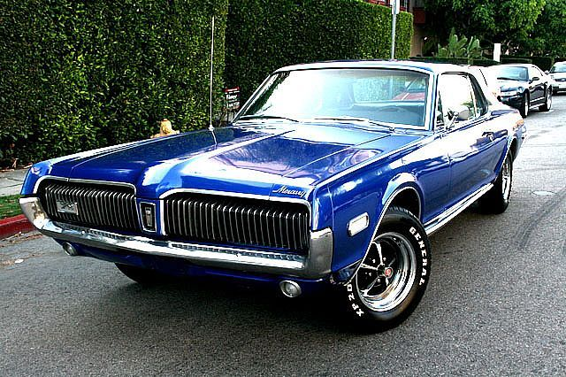 1968 cougar 1968 mercury cougar for sale los angeles california sold green lime green. Black Bedroom Furniture Sets. Home Design Ideas