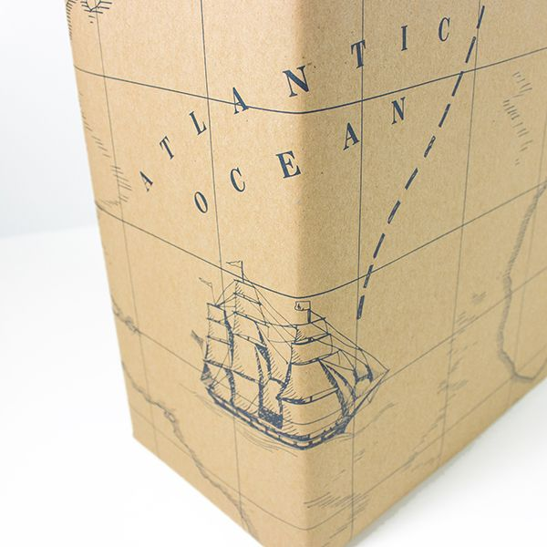 NEW: Wrapping paper treasure map made of recycled paper   Let your ...