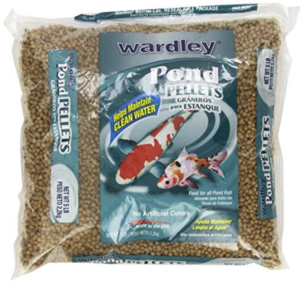 Details about hartz ten pond pellets fish food koi and