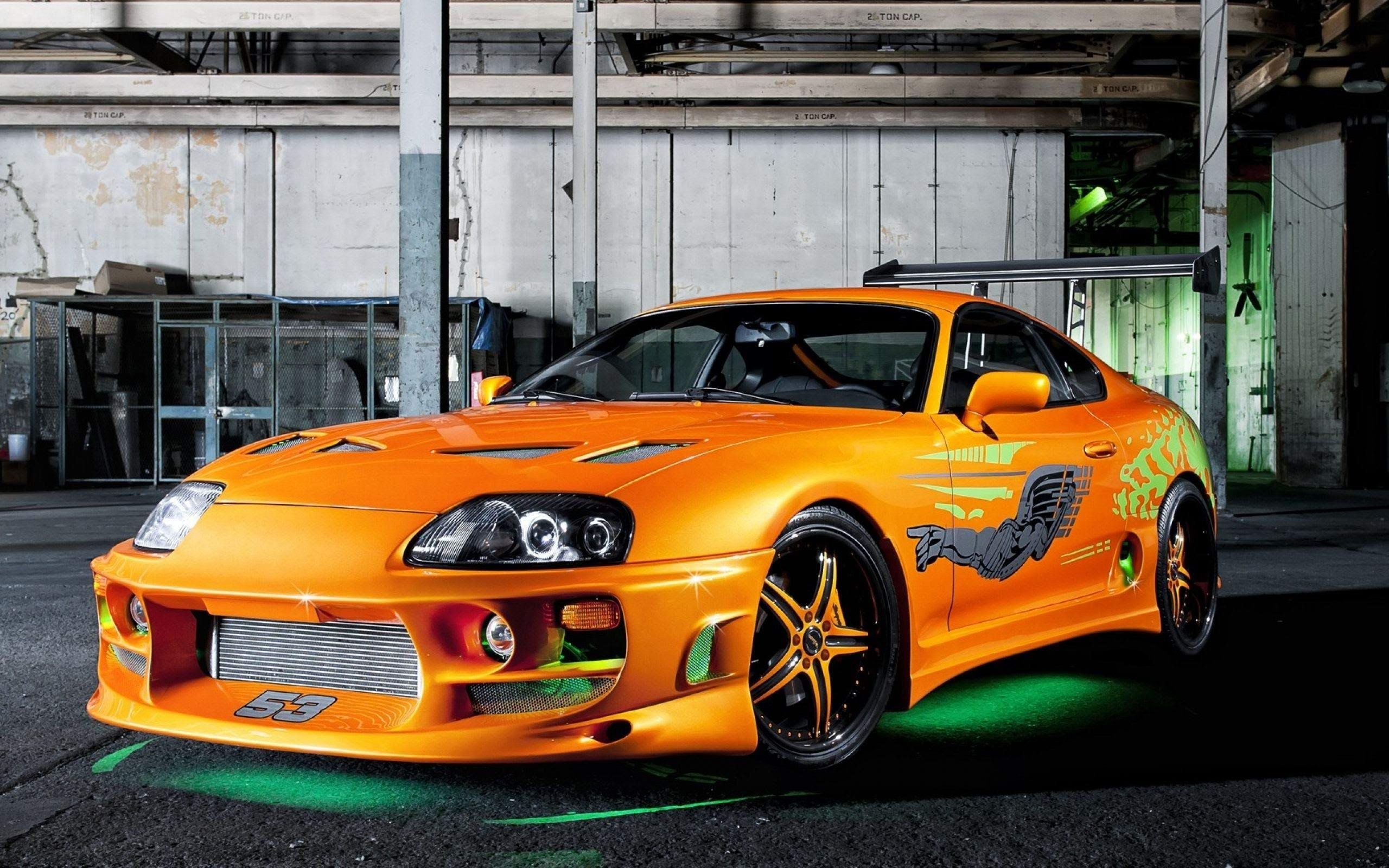 "Wallpaper Toyota Supra Sports Car Need For Speed: Need For Speed Most Wanted ""Fast And Furious"" Toyota Supra"