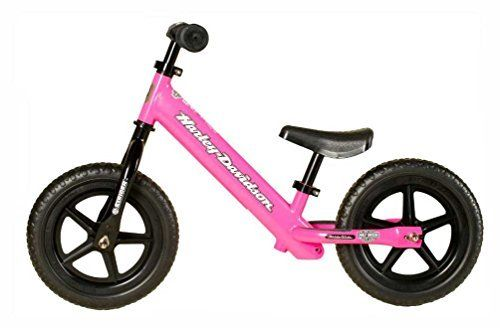 Amarra Harley Davidson Strider Bike Girls Youth Pink No Pedal