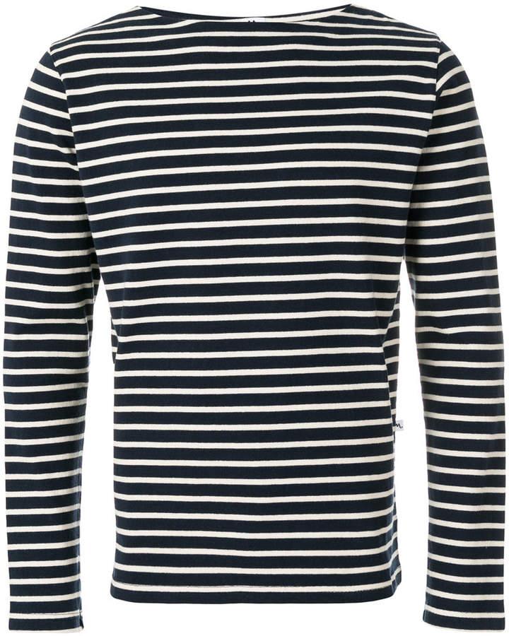 740efca5 Doppiaa striped casual sweatshirt | Products | Sweaters, Blue ...