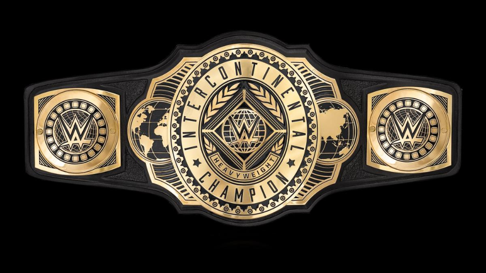 A New Look Intercontinental Title Was Unveiled On Friday Night Smackdown On Nov 22 2019 Wwe Belts Wwe Clash Of Champions