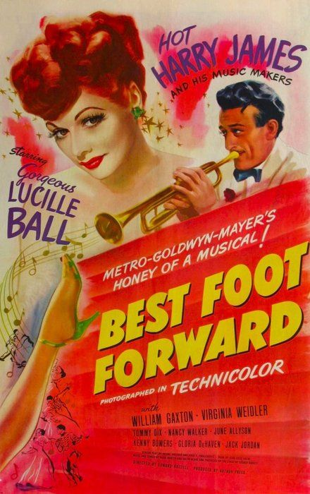 Image result for best foot forward movie poster