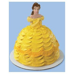 Disney Princess Belle Petite Doll Cake Topper Os 3rd Bday Party