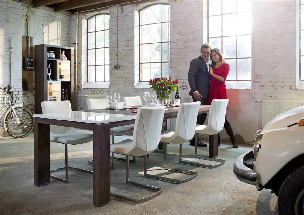 Heth Collection Cataluna Un Melange Entre Du Bois Laque Blanc Brillant Et Du Bois D Acacia Un Design Moderne Et Chaleureux Home Furniture Home Decor