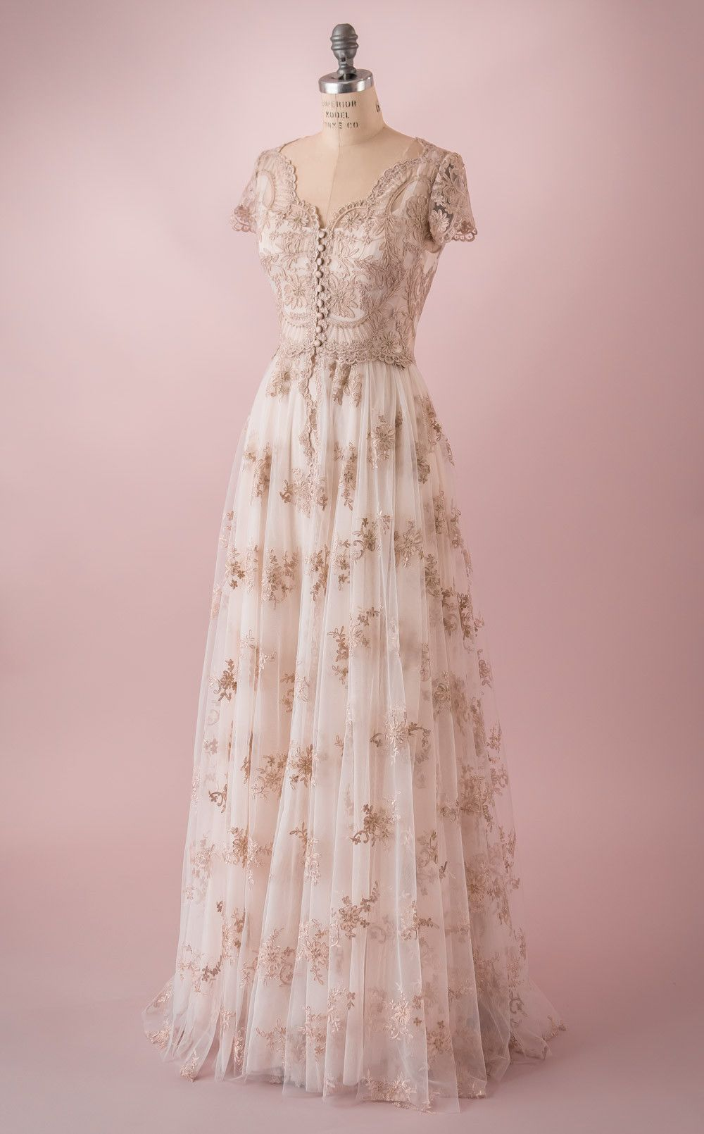 Elizabeth | Vestido largo, Los vestidos y Vestidos de novia