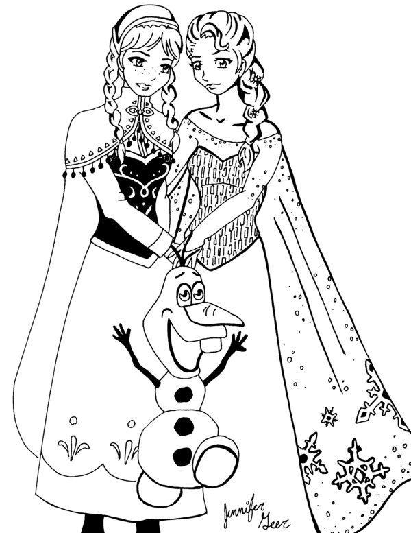Elsa From Frozen  frozenelsaandannabyanimegeerd6xirq8jpg