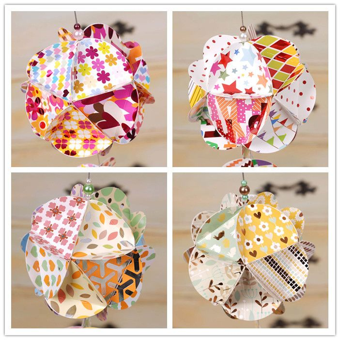 How To Make Paper Balls For Decoration Find More Event & Party Supplies Information About Diy Origami