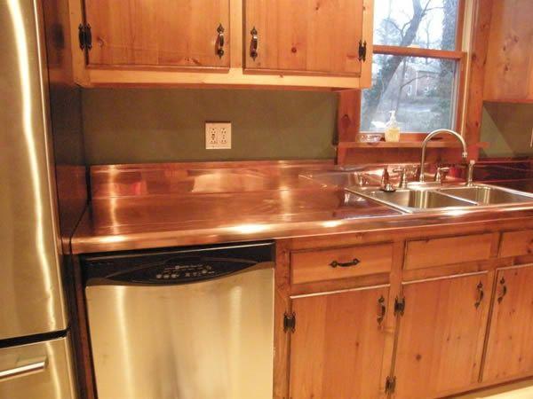 Copper Countertops Kitchen Design Countertops Copper Kitchen Countertop Copper Countertops