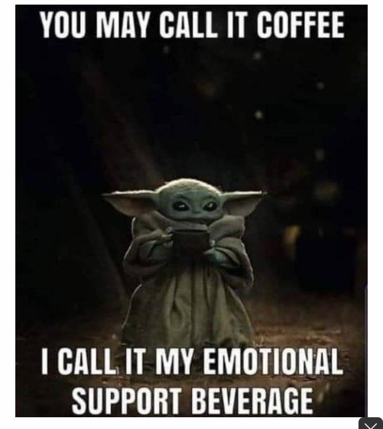 Baby Yoda Coffee Yoda Funny Yoda Meme Yoda Images