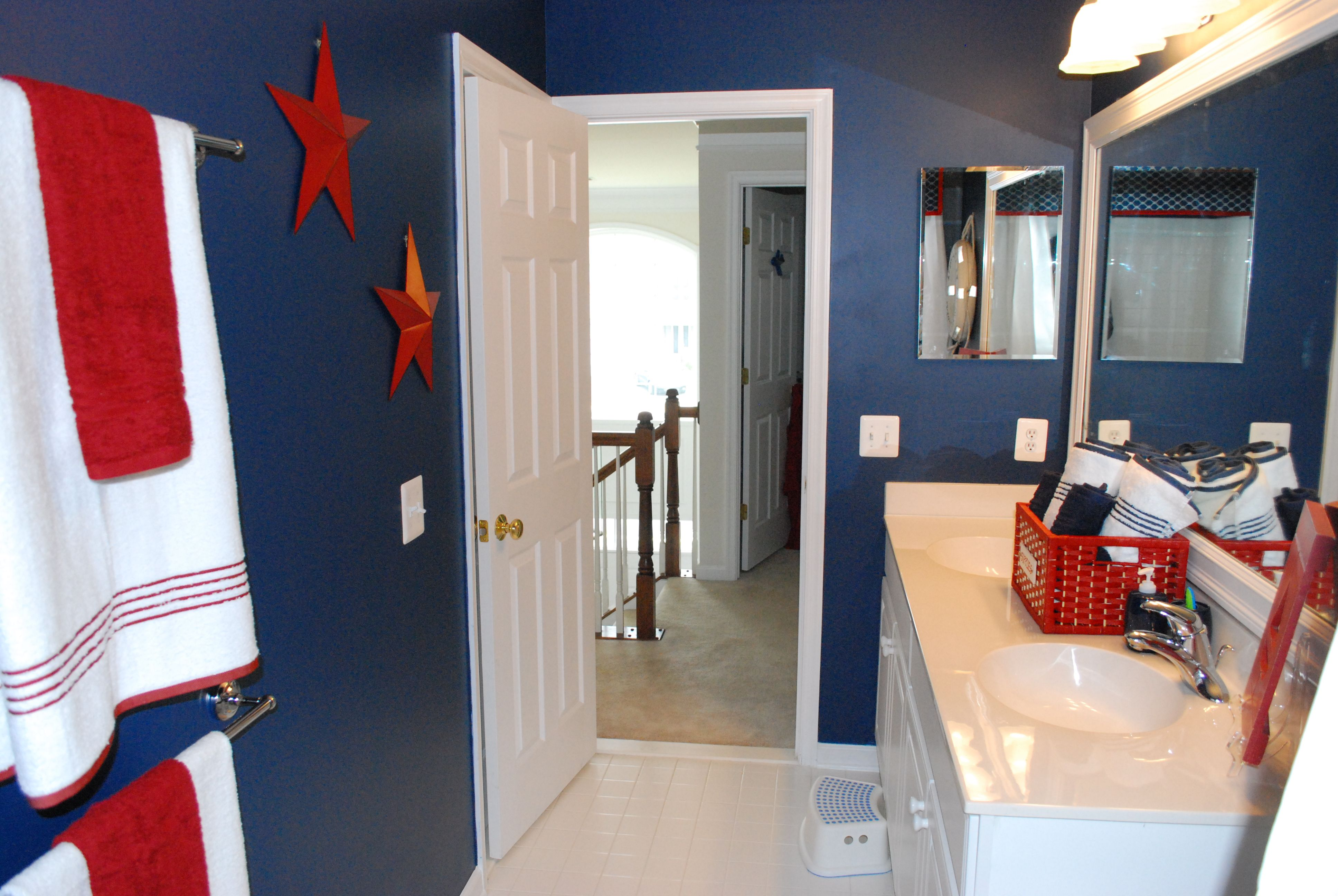 Sailor Themed Bathroom So I Wanted To Share My Almost Complete Boys Nautical