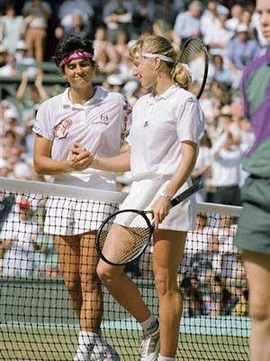 Steffi ousts Sabatini at 1991 Wimbledon Ladies Final - Gabriela ...
