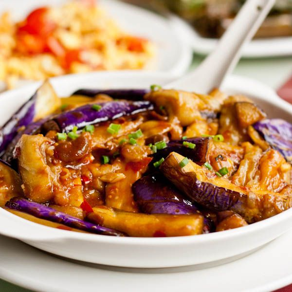 Garlic And Chili Chinese Eggplant