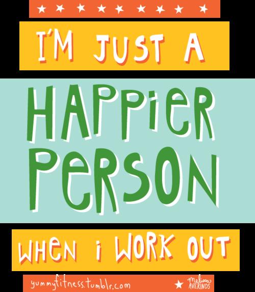 Yup. Blissfully happy.