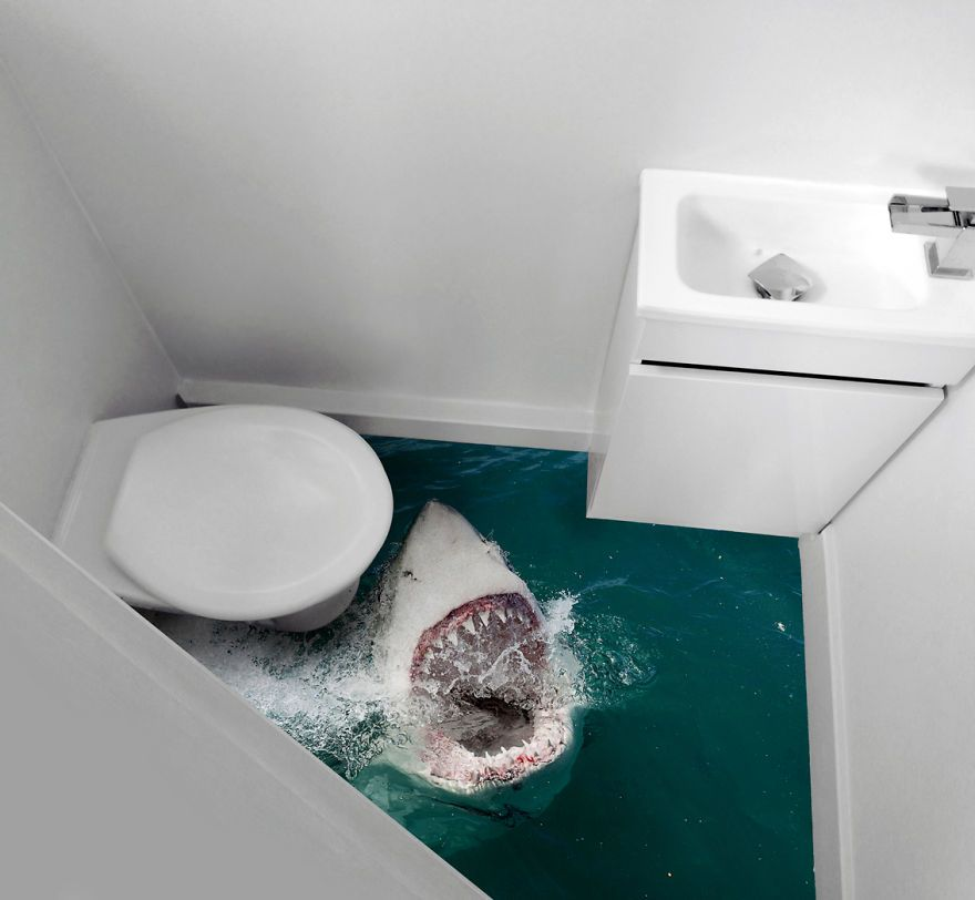 Quot Bizarre Toilet Makeovers For Old School Horror Movies