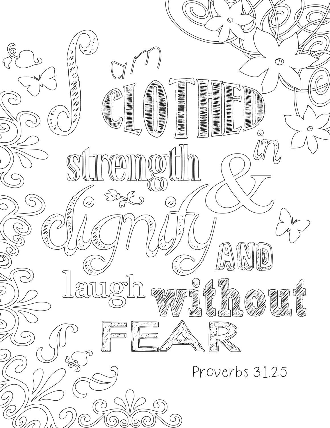 proverbs 31 coloring page by burlapandspice on etsy koloring