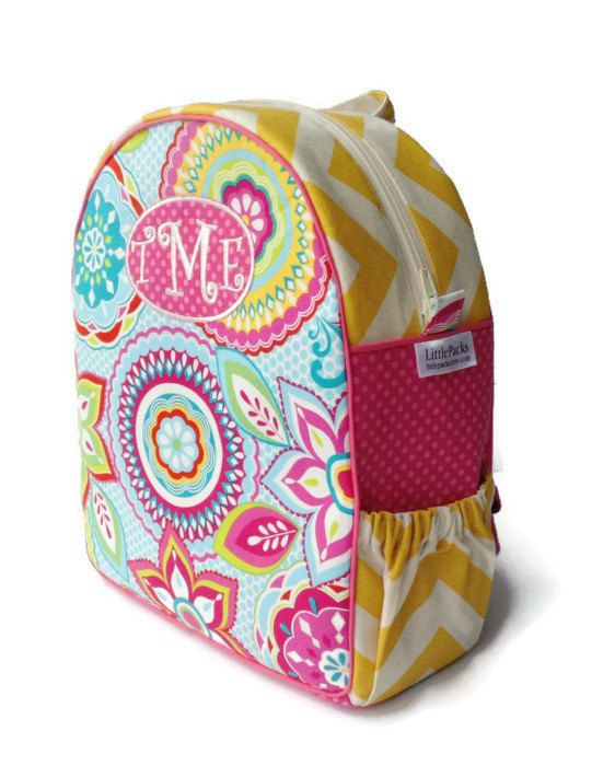 Personalized Toddler Backpack, Girls Backpack, Preschool Backpack ...